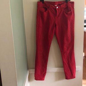 JCrew skinny ankle jeans